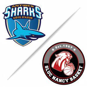 Match ANTIBES SHARKS / SLUC NANCY