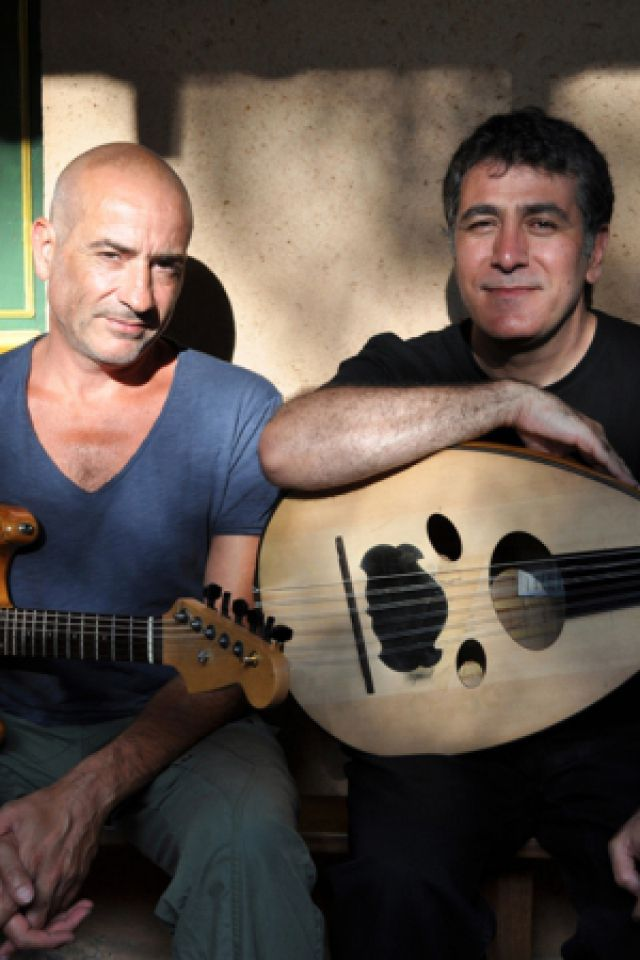 Serge Teyssot-Gay, Khaled Aljaramani & Marc Nammour @ Maison de la poésie - PARIS
