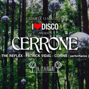Soirée I LOVE DISCO feat CERRONE, THE REFLEX, PATRICK VIDAL & CORINE