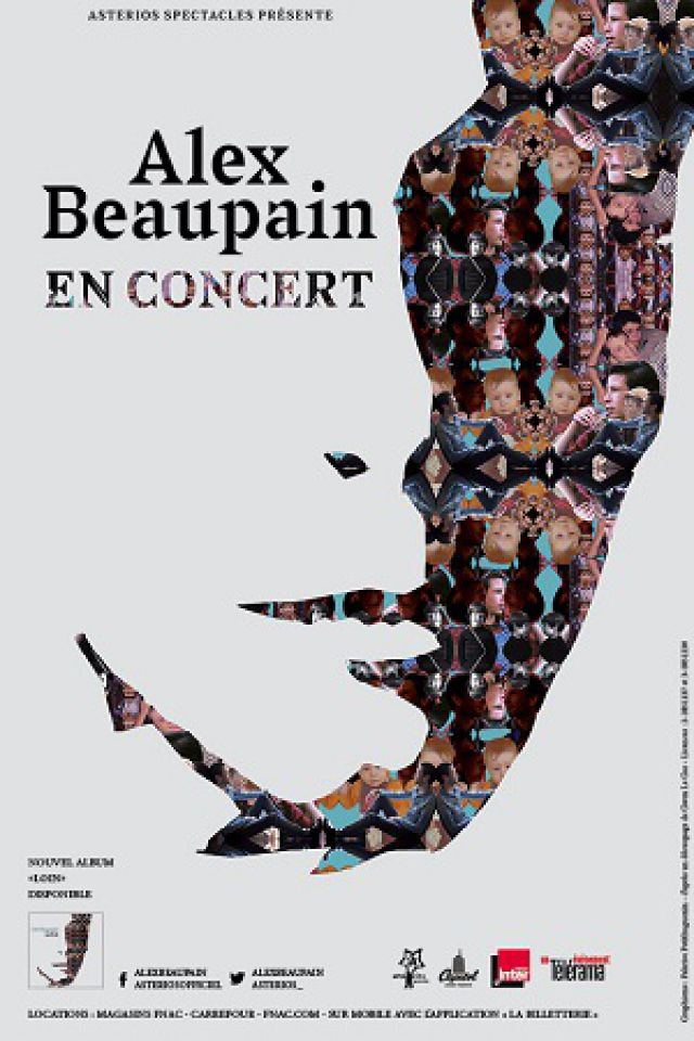 ALEX BEAUPAIN @ LE BATACLAN - PARIS