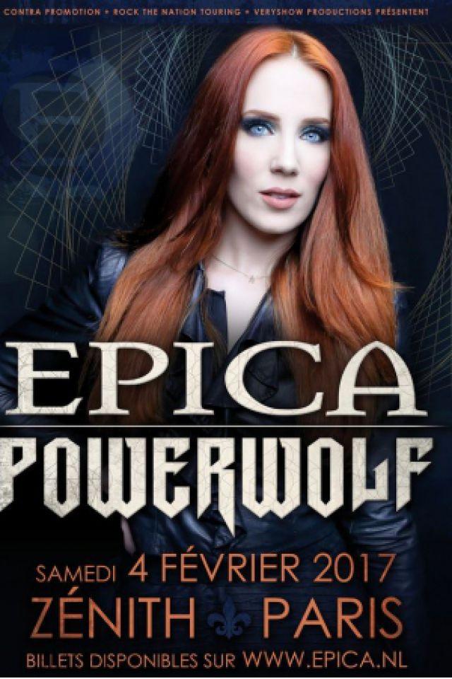 EPICA + POWERWOLF @ Zénith Paris La Villette - Paris