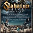 Concert SABATON + Alestorm + Bloodbound