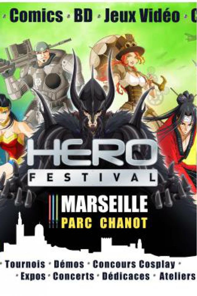 HEROFESTIVAL DIMANCHE - Marseille 2016 @ Parc Chanot Hall 1 et 2 - MARSEILLE