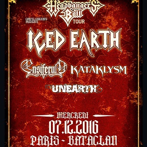 Concert ICED EARTH / ENSIFERUM / KATAKLYSM / UNEARTH