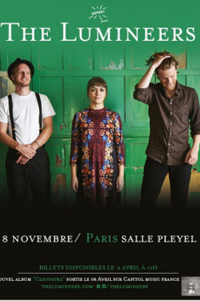 THE LUMINEERS @ Salle Pleyel - Paris
