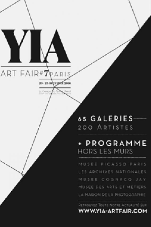 YIA ART FAIR #7 @ LE CARREAU DU TEMPLE - PARIS
