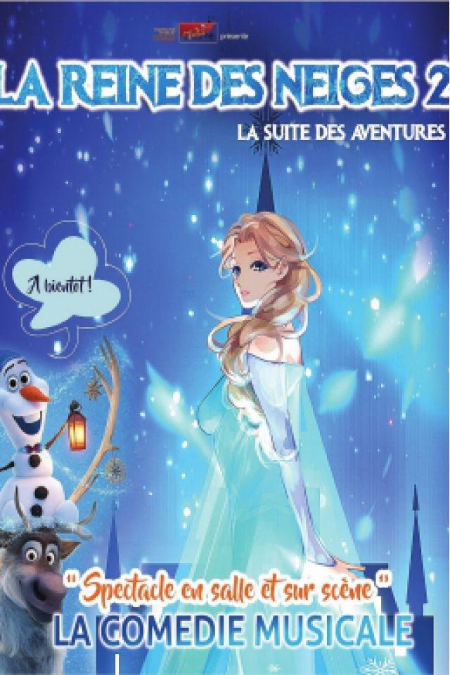 LA REINE DES NEIGES @ Le Comédia - PARIS