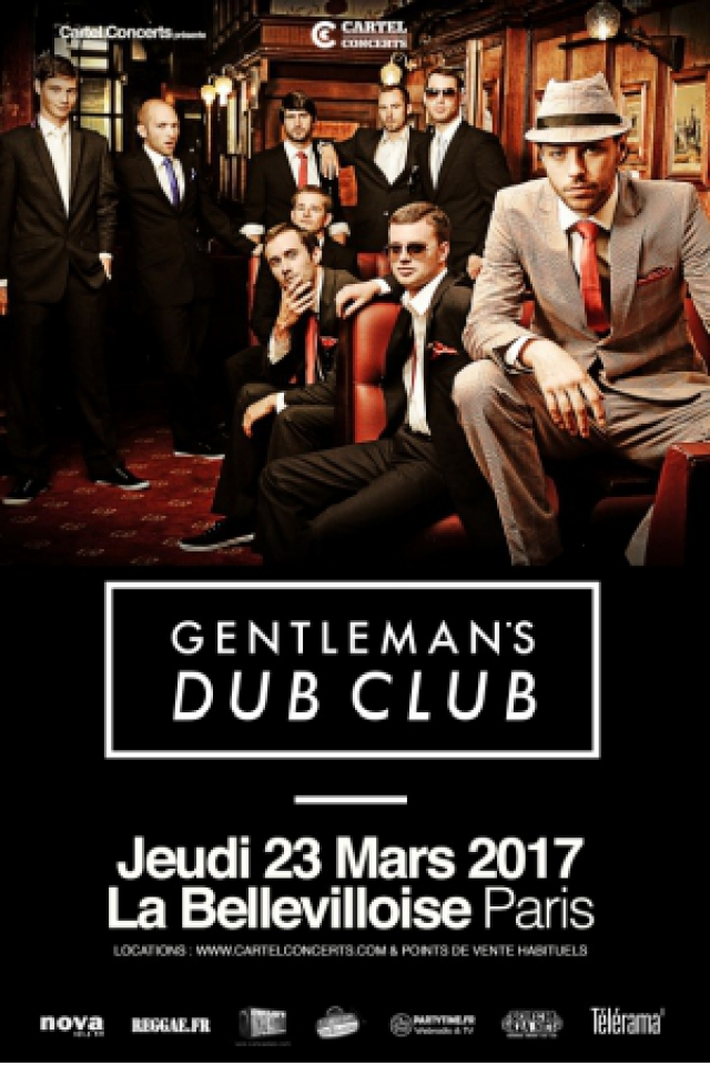 GENTLEMAN'S DUB CLUB @ La Bellevilloise - Paris
