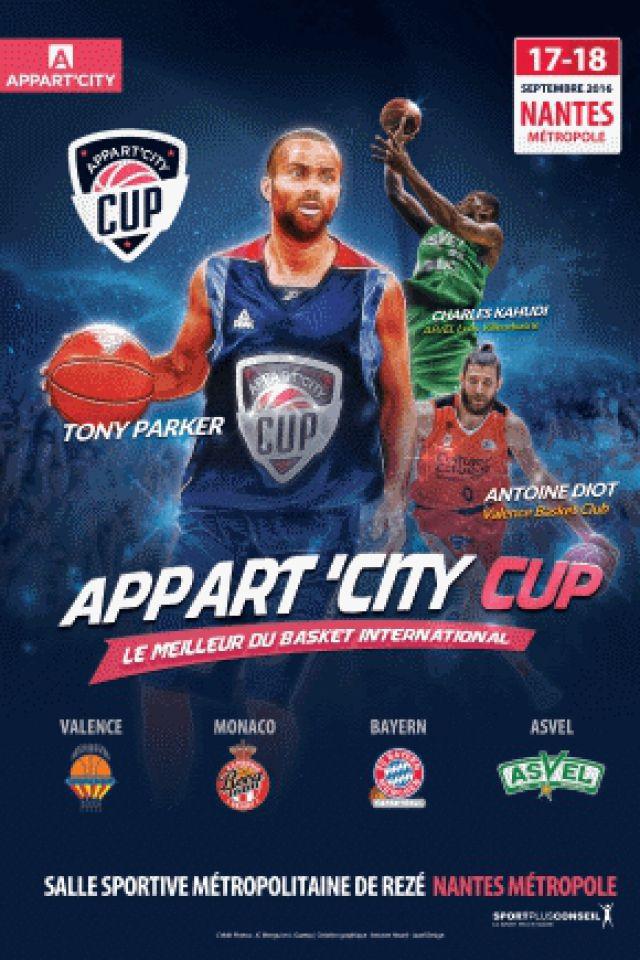 Appart'City Cup 2016 : Pass Week-End @ Salle métropolitaine de la Trocardière - REZÉ