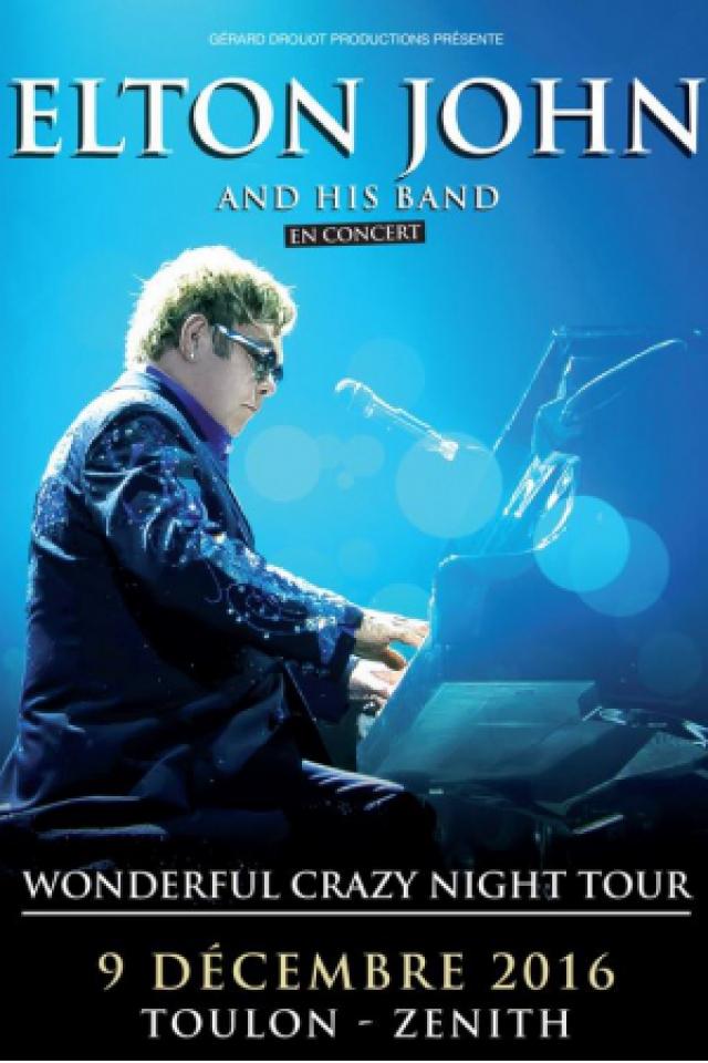Elton John @ Zénith Oméga - Toulon