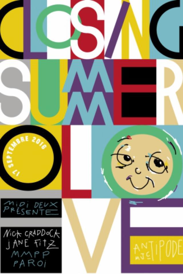 Billets Midi Deux - Closing Summer Of Love - Antipode Mjc