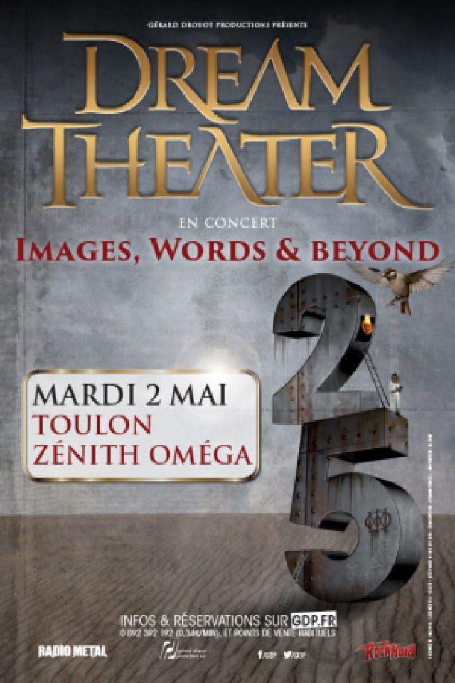 DREAM THEATER @ Zénith Oméga - Toulon