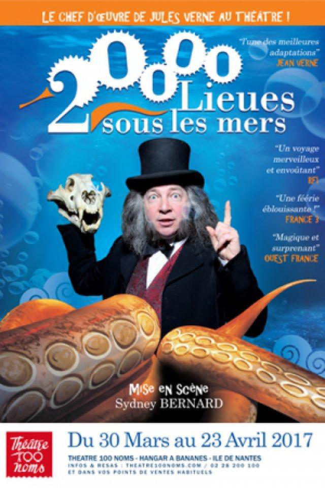 20 000 LIEUES SOUS LES MERS @ THEATRE 100 NOMS - NANTES