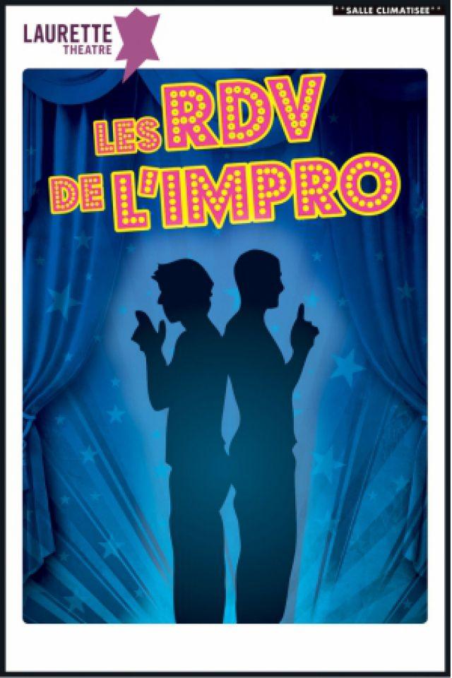 Les RDV de l'impro @ Laurette Théâtre - salle Laurette - AVIGNON