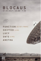 Concert BLOCAUS w/ Function, Shifted live, Lucy, SNTS live & Anetha