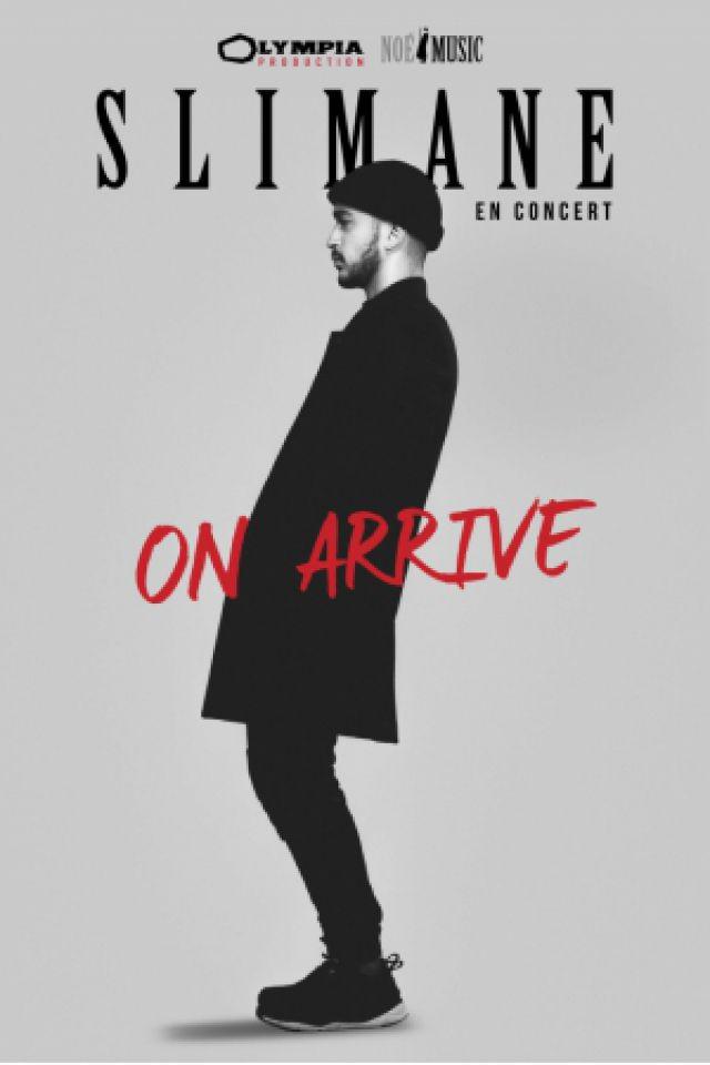 """Concert SLIMANE """"ON ARRIVE"""" à Chatellerault @ SALLE L'ANGELARDE - Billets & Places"""