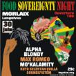FOOD SOVEREIGNTY NIGHT - ALPHA BLONDY, MAX ROMEO, MO'KALAMITY
