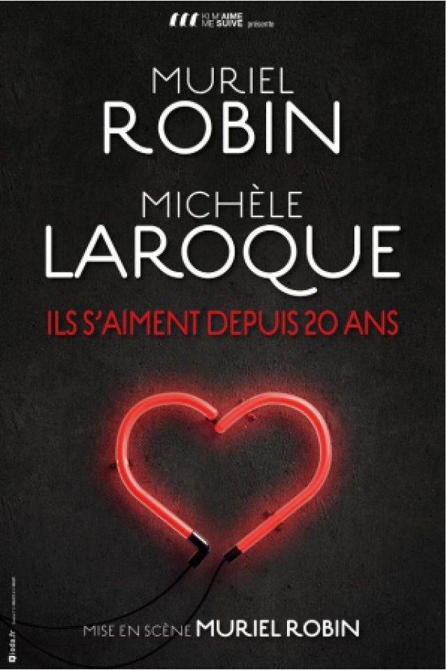 MURIEL ROBIN - MICHELE LAROQUE @ BREST ARENA - BREST