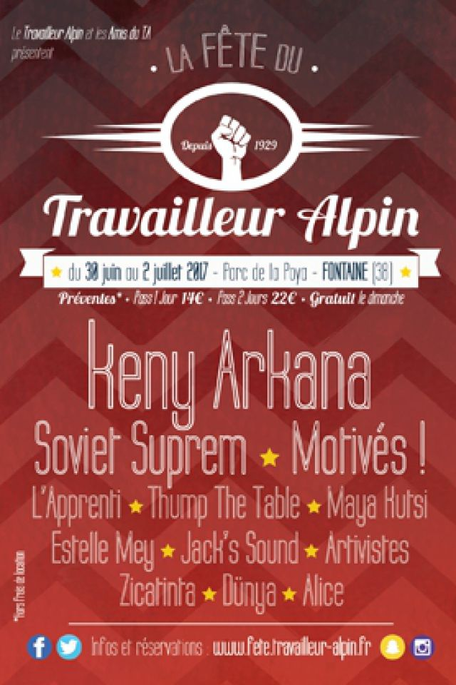 Keny Arkana, L'apprenti, Maya Kutsi, Jack's Sound, Artivistes... @ Parc de la poya - FONTAINE