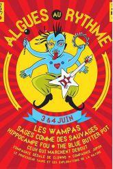 Festival FESTIVAL ALGUES AU RYTHME 2017 - LES WAMPAS,HIPPOCAMPE FOU...