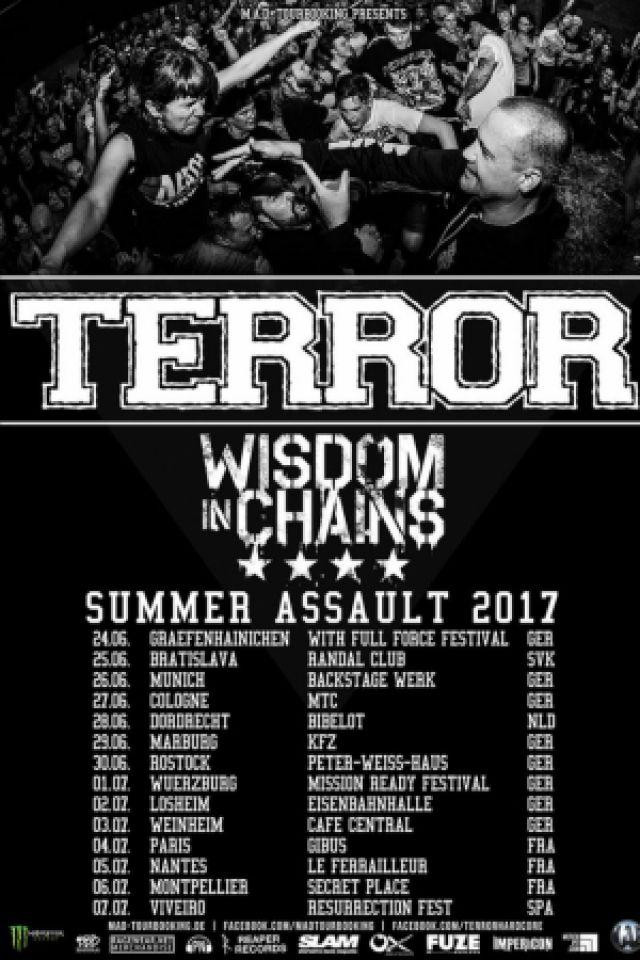Terror + Wisdom in Chains + The Butcher's Rodeo @ Le Gibus  - PARIS