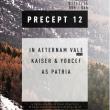 Soirée PRECEPT #12 w/ IN AETERNAM VALE -  [BP] - AS PATRIA