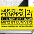 MUSIQUES VOLANTES 2016 - PASS CELESTE 10 et 18/11