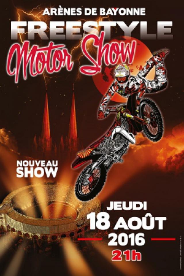 FREESTYLE MOTOR SHOW BAYONNE @ Les Arènes - BAYONNE
