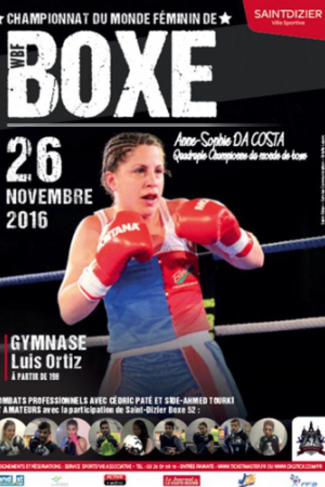 Championnat du monde de boxe f minin saint dizier for Championnat du monde de boules carrees