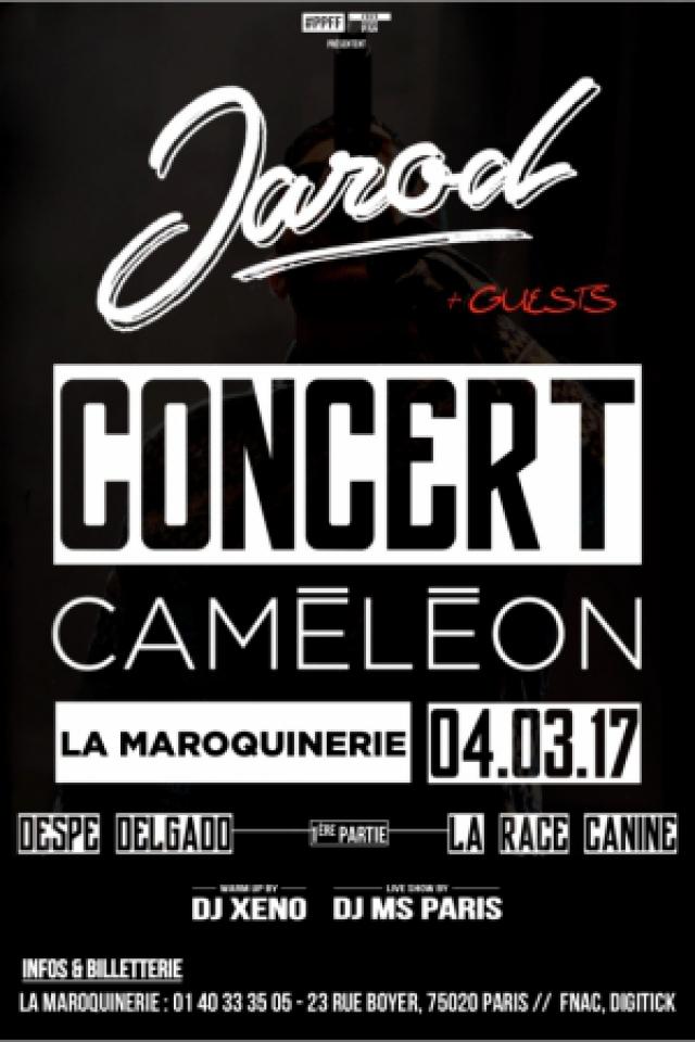 Billets JAROD + GUESTS - La Maroquinerie