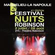 """Festival Festival """"Les Nuits de Robinson"""" 2016"""