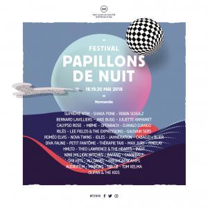 Festival FESTIVAL PAPILLONS DE NUIT 2017