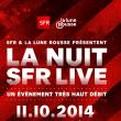 LA NUIT SFR LIVE