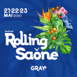 Festival ROLLING SAONE 2017 : programmation, billet, place, pass, infos