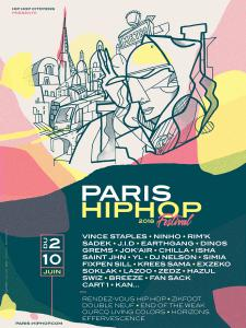 FESTIVAL PARIS HIP HOP 2017 : programmation, billet, place, pass, infos