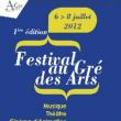 Festival Au gré des Arts 2012 : programmation, billet, place, pass, infos