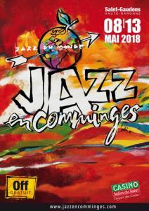 Festival JAZZ EN COMMINGES 2017 : programmation, billet, place, pass, infos