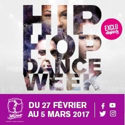 Billets HIP HOP DANCE WEEK - JUSTE DEBOUT 2017
