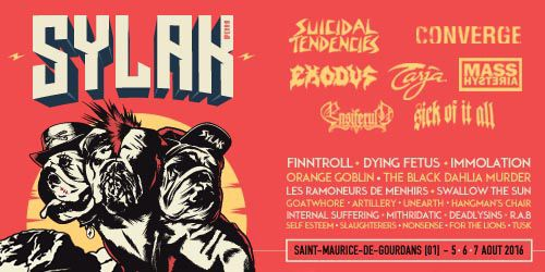 Billets SYLAK OPEN AIR 2016