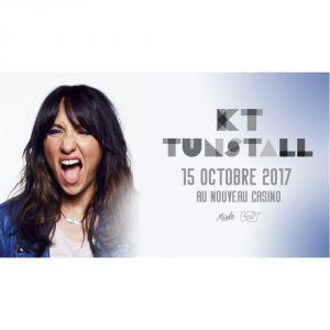 Concert KT TUNSTALL à Paris @ Le Nouveau Casino - Billets & Places