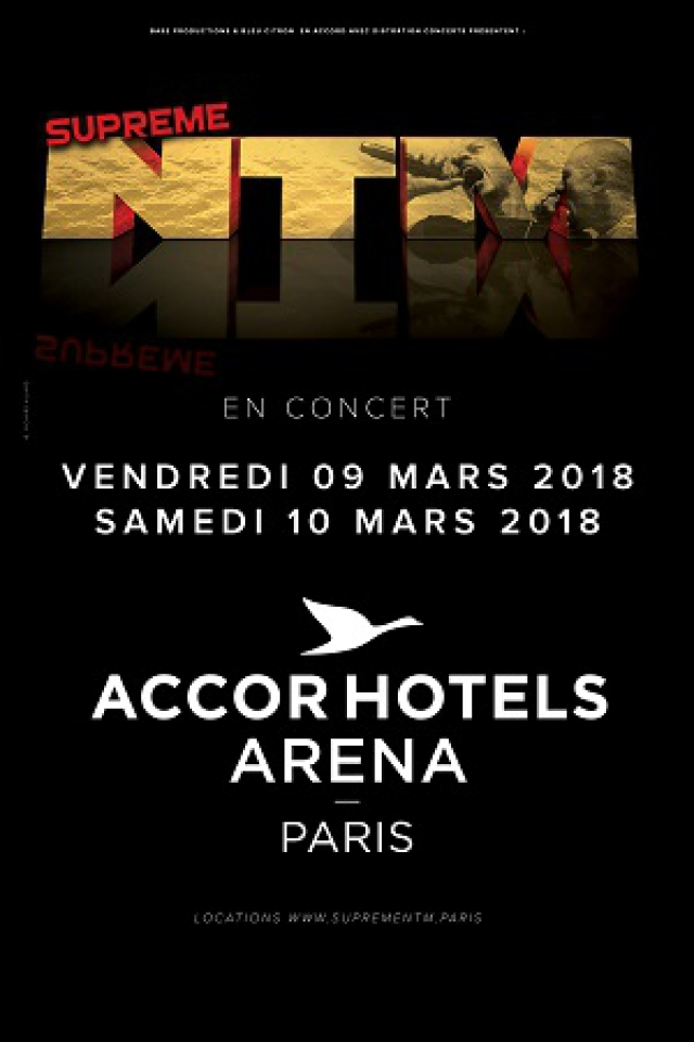 Concert Suprême NTM à PARIS 12 @ ACCORHOTELS ARENA - Billets & Places