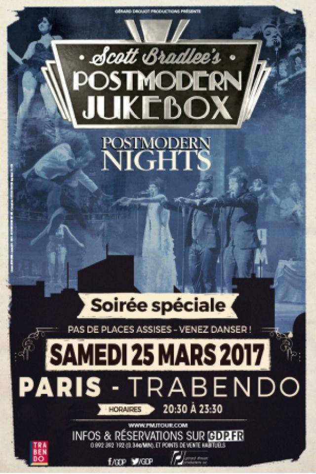Concert SCOTT BRADLEE'S POSTMODERN JUKEBOX à Paris @ Le Trabendo - Billets & Places