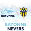 Match Aviron Bayonnais - USON Nevers Rugby