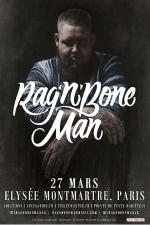 concert rag 39 n 39 bone man paris elysee montmartre billets places. Black Bedroom Furniture Sets. Home Design Ideas