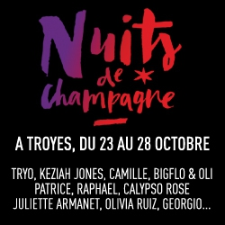 Billets FESTIVAL NUITS DE CHAMPAGNE 2017